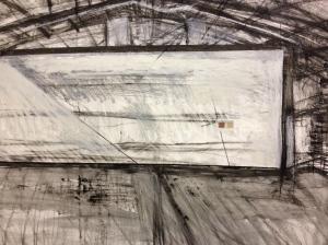 Day 5 studio diary drawing Jonathan Ellis