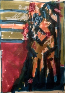 Day 8 Auerbach study - in front of EOW in chair