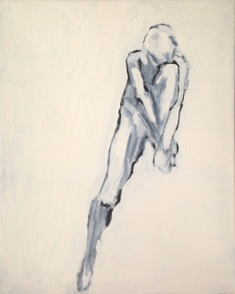 Figure JONATHAN ELLIS Oil on canvas POA