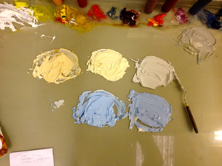 early palette 6 Feb 2013 - Albers said that yellow and blue were the purest colours