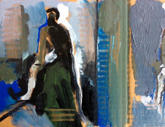 Vaughan Palette: LIfe Class study JONATHAN ELLIS POA