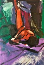 Matisse palette: Life Class Study