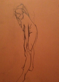 Standing figure JONATHAN ELLIS POA