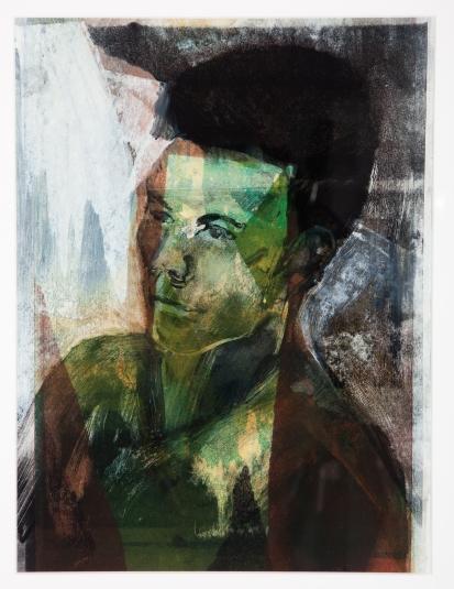 Dave JONATHAN ELLIS Monoprint 2012