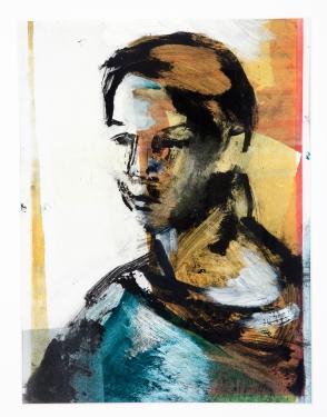Amanda JONATHAN ELLIS Monoprint 2012