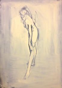 Figure Oils 60 x 90 cm 2013 Jonathan Ellis