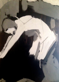 2. Jonathan Ellis Life Class 15 June 2014 Oil on canvas POA