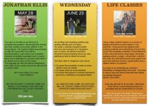 Jonathan Ellis flyer Life class LSK