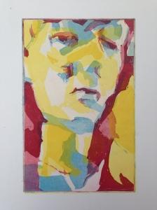 JONATHAN ELLIS Primary Colours, a three plate aquatint etching 21 x 31.5 cm