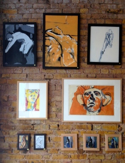 JONATHAN ELLIS 13 The Gallery August 2014 exhibition