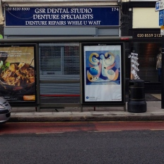 art everywhere: Agar in High Road, Woodford Green Denture Repairs. Slow Movement by Agar