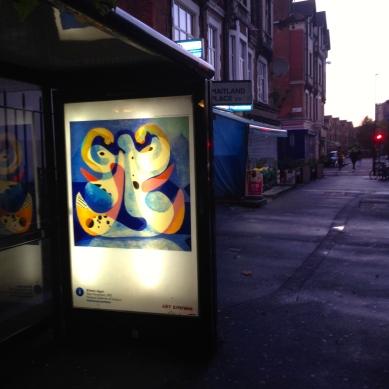art everywhere: Agar opp Clapton Girls' Academy, Hackney Art imitate's life's colours again