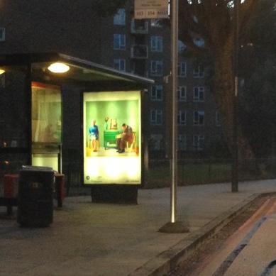 art everywhere: Hockney in Clapton Common, E5 Bleak