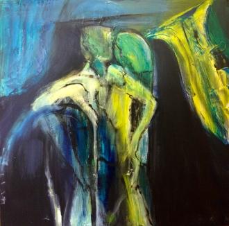 MARGARET Tonal Vaughan Painting