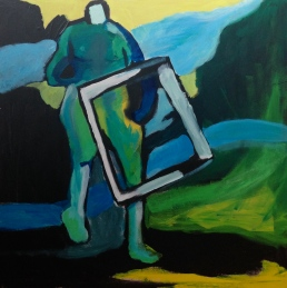 HILARY Tonal Vaughan Painting