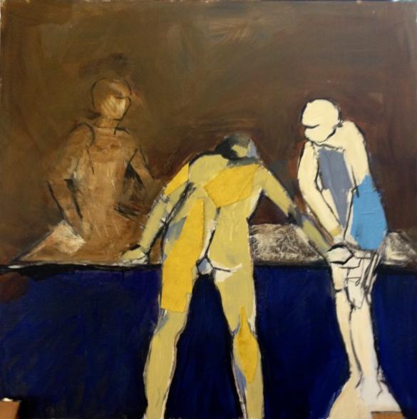 DEBBIE Transparent Linear Vaughan Painting