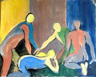 ANN Transparent Linear Vaughan Painting