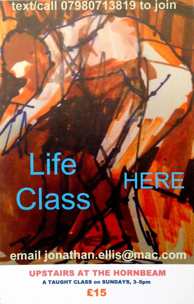 JONATHAN_ELLIS HORNBEAM LIFE CLASS FLYER
