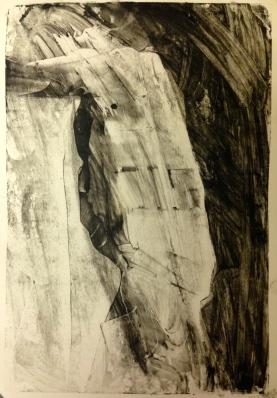 Barrie 4 JONATHAN ELLIS charcoal and colourless oilbar 8th September 2014