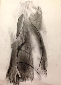 Michael 4 JONATHAN ELLIS charcoal on paper