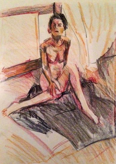 JONATHAN_ELLIS Cut & Rubbed Life Drawing 29 September 2014