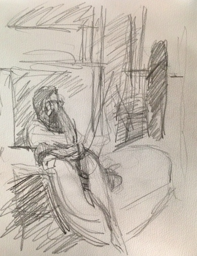 Richard 3 IONA pencil Wednesday 8 October, 2014