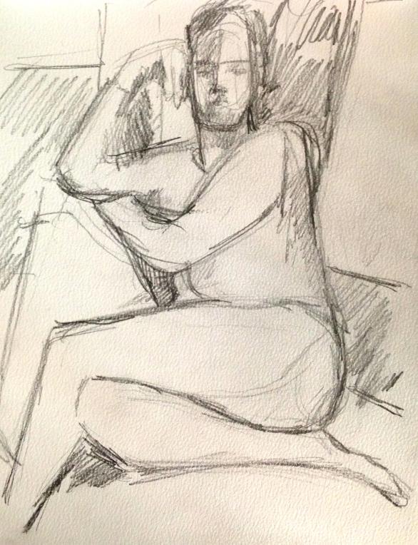 Richard 4 IONA pencil Wednesday 8 October, 2014