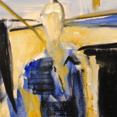 Richard (detail) JACQUIE oils Wednesday 8 October, 2014