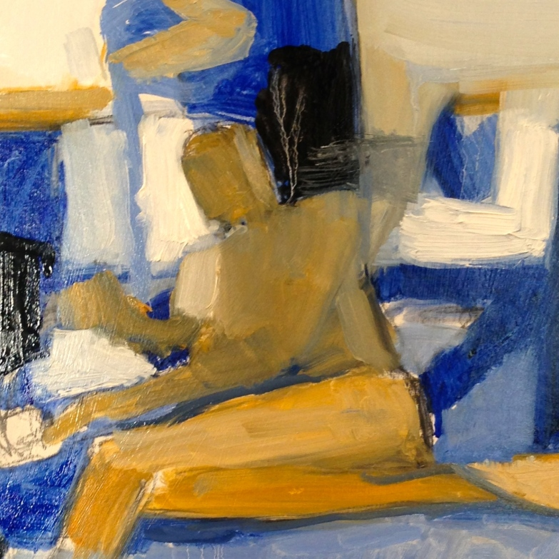 Richard (detail) IONA oils Wednesday 8 October, 2014