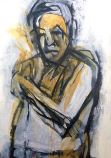 Yellow Michael JONATHAN ELLIS oils October 2014