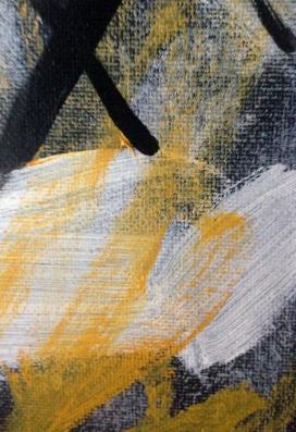 Yellow Michael (detail) JONATHAN ELLIS oils October 2014
