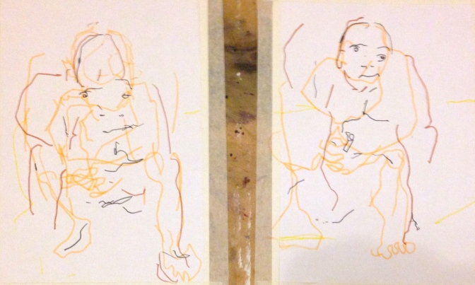Barrie Trace of Seeing 4/5 PHOEBE Graphite pencil 12 October 2014