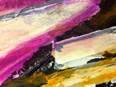 After Hollow Ponds III (detail) JONATHAN ELLIS oils 85 x 60 cm