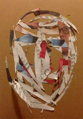 Mandy third collage 'Barry'