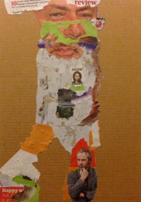 Stephanie third collage 'Barry'