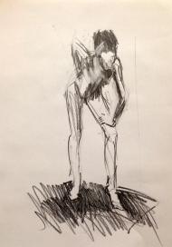 Estelle I JONATHAN ELLIS pencil on paper 26 October 2014