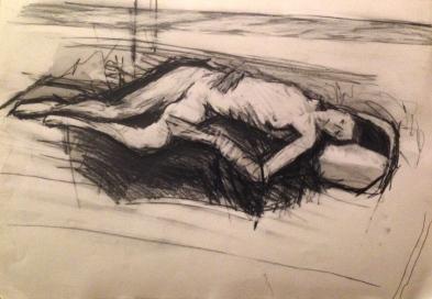 Estelle 5 JONATHAN ELLIS pencil on paper 26 October 2014