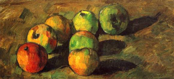 Still Life with Seven Apples Paul Cezanne Oils 1878