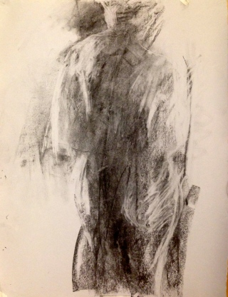 De Stael Exercise 5 LUCY POWELL Charcoal 5 November 2014