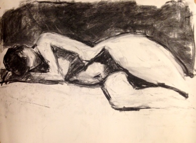 De Stael Exercise 6 IONA STERN charcoal 5 November 2014