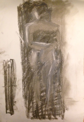 De Stael Exercise 5 IONA STERN Charcoal 5 November 2014