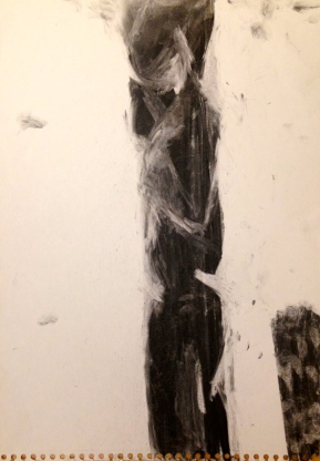 De Stael Exercise 5 JACQUIE RUFUS-ISAACS Charcoal 5 November 2014