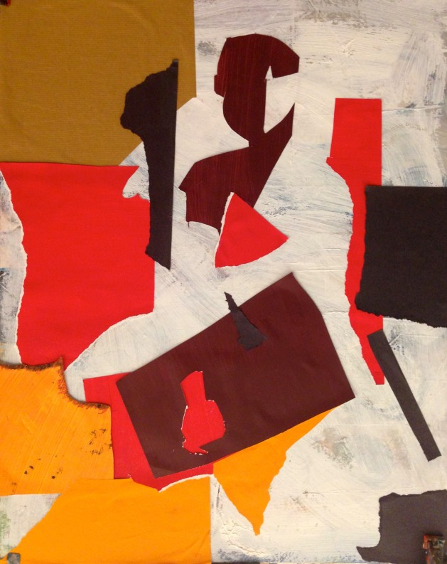 De Stael Exercise 7 ANNIE FIELD Collage 5 November 2014
