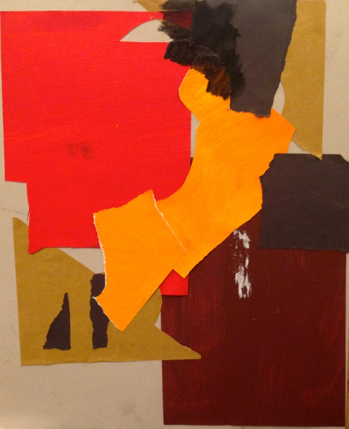 De Stael Exercise 7 LUCY POWELL Collage 5 November 2014