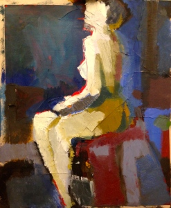 De Stael Exercise 9 LUCY POWELL Mixed media 5 November 2014