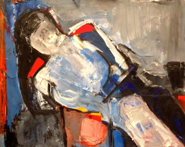 De Stael Exercise 9 JACQUIE RUFUS-ISAACS Mixed media 5 November 2014
