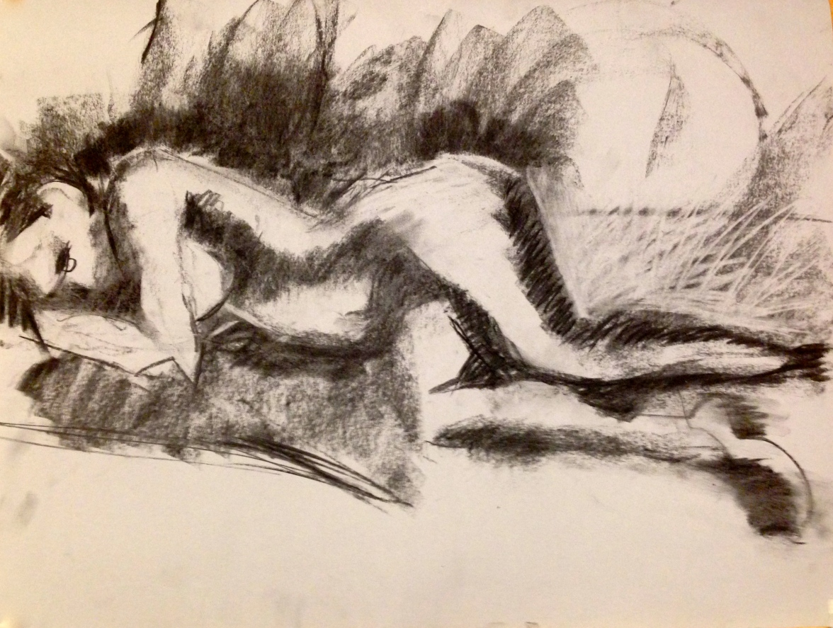 De Stael Exercise 6 LUCY POWELL charcoal 5 November 2014