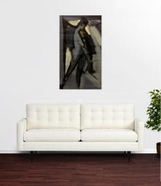 Dark Standing Figure JONATHAN ELLIS