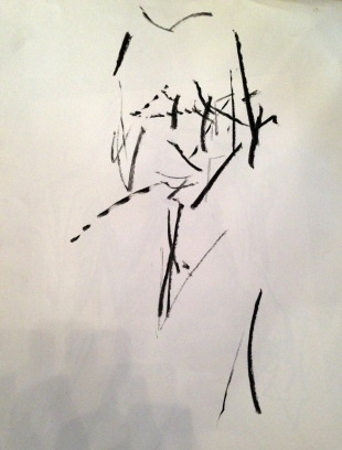 Auerbach marks 1 GILL ROWE charcoal 10 December 2014