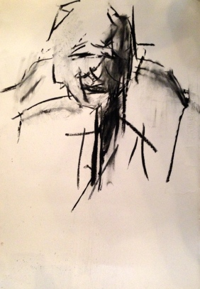 Auerbach marks 2 GILL ROWE charcoal 10 December 2014